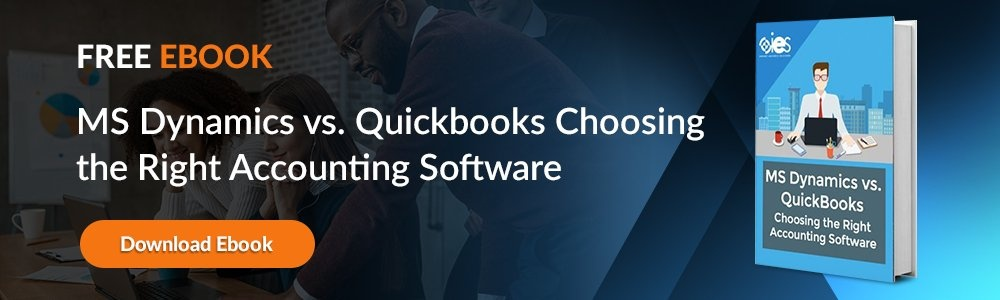 MS Dynamics vs QuickBooks eBook