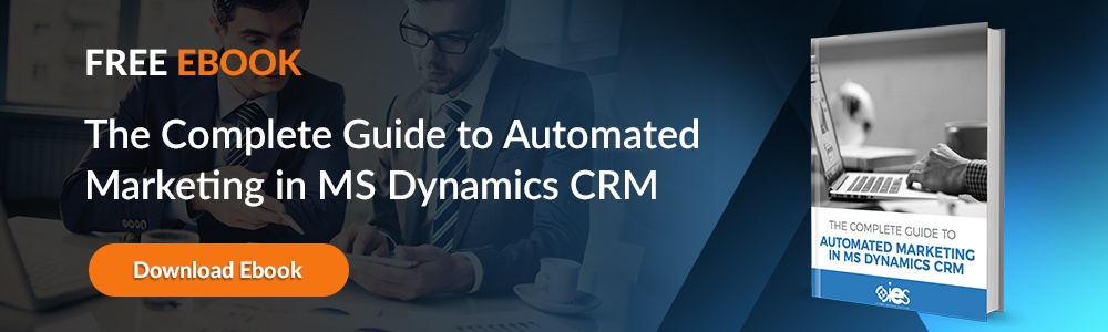 Automated Marketing in MS Dynamics CRM